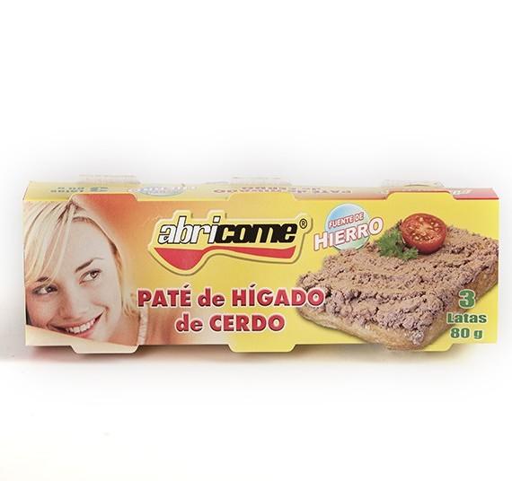 Pack 3 Hígado de Cerdo Abricome