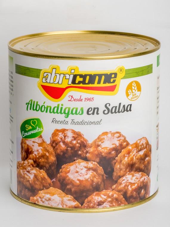 ALBO¦üNDIGAS EN SALSA 2600