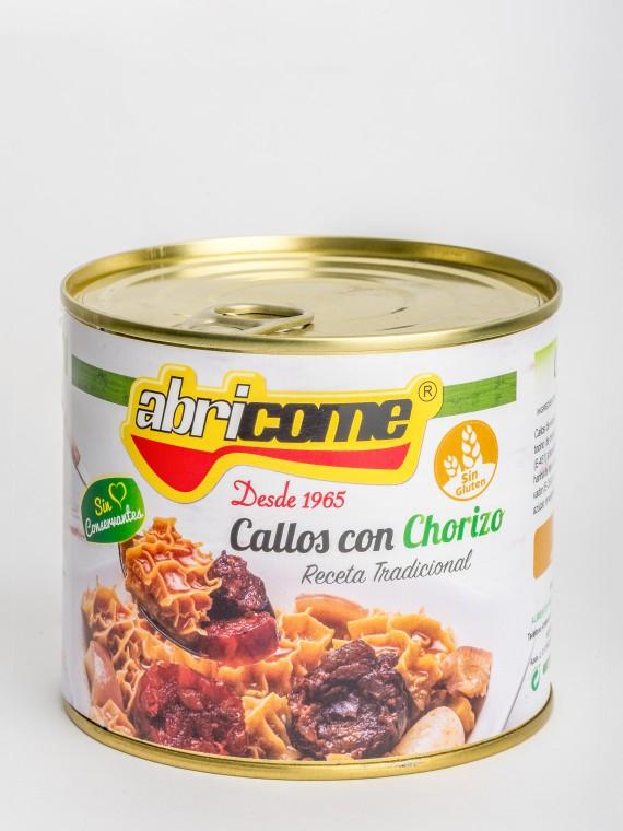 CALLOS CON CHORIZO 640