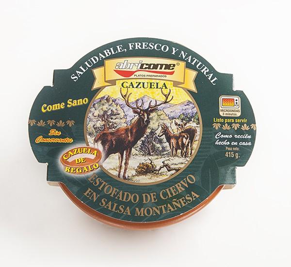 Estofado de Ciervo en Salsa Montañesa