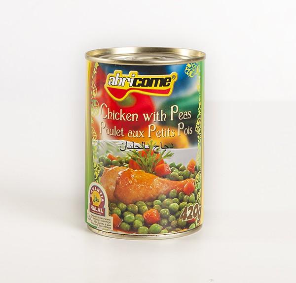 Pollo con Guisantes HALAL