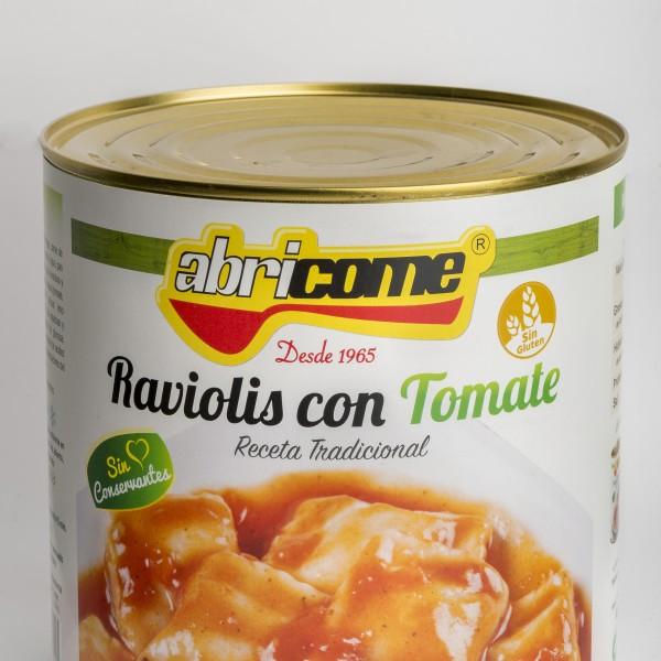 RAVIOLIS CON TOMATE