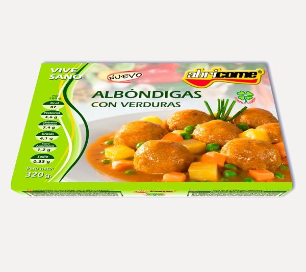 Albóndigas con Verduras