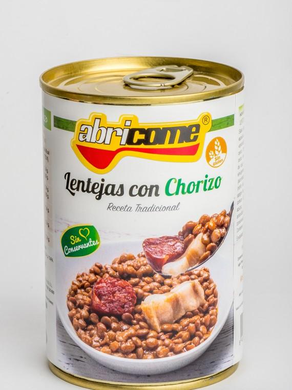 Lentejas con Chorizo