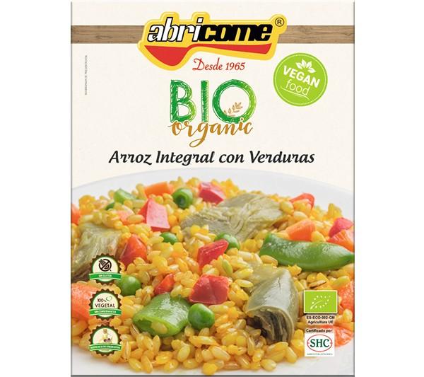 Arroz Integral de Verduras BIO